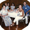 18. 1985 with Joyce, Charles and Joyce Allen, Winnie Forsythe, and Terry Walls and her husband.