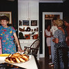 17. At a small gathering at Cathey's a few years ago. Susan Lewis at left.