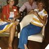 10. Linda Thompson with Jack and Jimmye Nan.