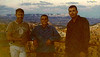 16. Hazy, but one of the best group shots. Wished we'd have shot before and after pictures on that trip. Oh, well. Where does the time go?  FORTY YEARS NEXT SUMMER. Tempus Fugit. Which is Indian for Mesa Verde.