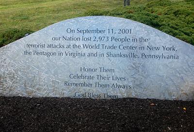 PHOTOS: Garden of Reflection in Lower Makefield, Pennsylvania's Official 9/11 Memorial