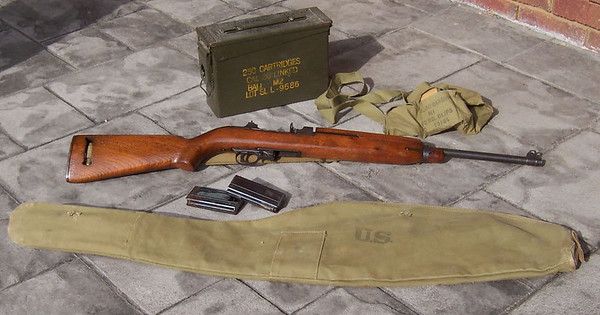 Pictures of my dad's M1 carbine