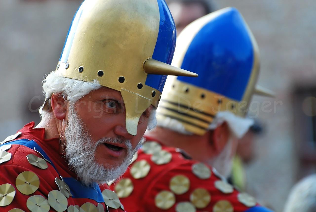 The Pageant of the Golden Tree (Praalstoet van de Gouden Boom) takes place only every five years in Bruges (Brugge), Belgium. Norsemen (Northmen) conquering Flanders.