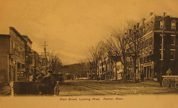 Palmer Main St looking West