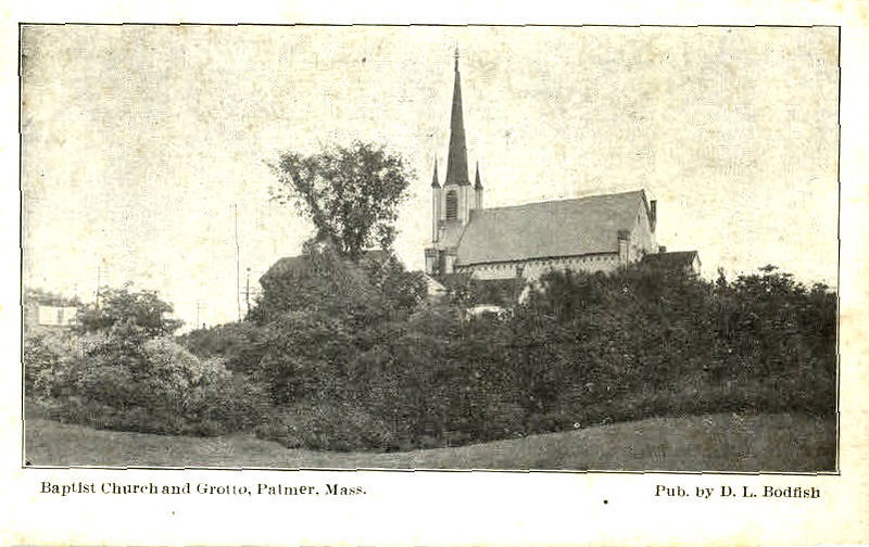 Palmer Baptist Church and Grotto