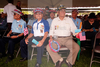 WWII vets from the Battle of Saipan