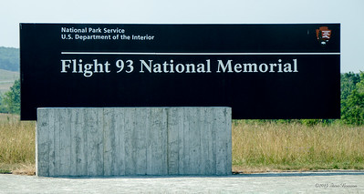 Along the 3.5 mile road into the memorial