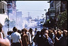 4*Sat, May 15, 1971<br /> People: 2 groups of protesters<br /> Subject: tear gas<br /> Place: Telegraph Ave / Channing, Berkeley<br /> Activity: protest<br /> Comments: