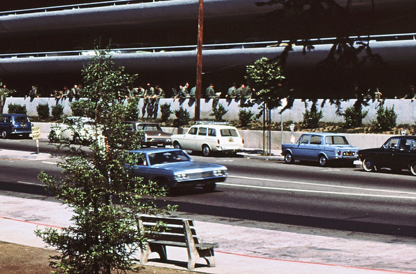 3*Mon, May 19, 1969<br /> *People: national guard<br /> Subject: <br /> *Place: parking garage, Hearst St, northside<br /> Activity: ppp<br /> Comments: