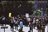 4*Tue, May 20, 1969<br /> *People: <br /> Subject: start of march<br /> *Place: Sather Gate north<br /> Activity: ppp<br /> Comments: huge crowd swells,people  on ASUC balcony in back