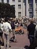 3*Thu, May 15, 1969<br /> *People: crowd<br /> Subject: bon fire<br /> *Place: Sproul Plaza<br /> Activity: PPP (People's Park protest)<br /> Comments: