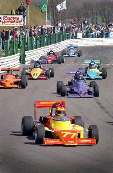 Formule Toyota klasse Jaba-circuit Posterholt