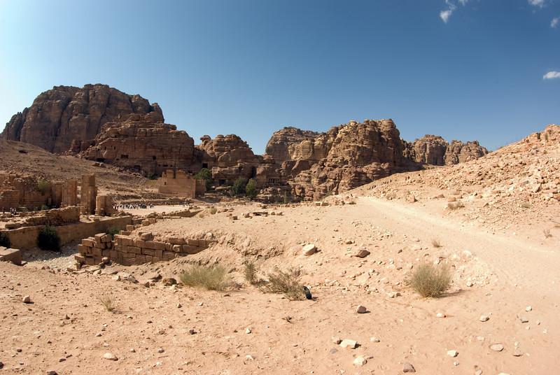 Roman temple.