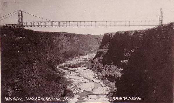 Hansen Bridge, ID