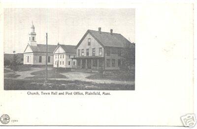 Plainfield Church Post Office Town Hall