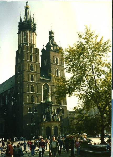 My father visited Krakow on that same visit 20 years ago.