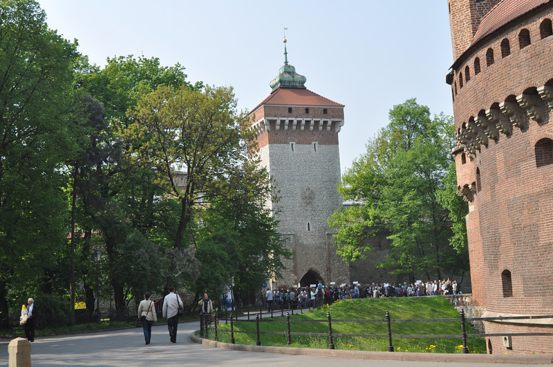 St. Florian's Gate and the barbican