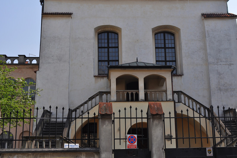 """The """"Isaac"""" synagogue in Krakow: <a href=""""http://www.krakow-info.com/synagogs.htm"""">http://www.krakow-info.com/synagogs.htm</a><br /> <br /> named after Rabbi Isaac of Prossnitz, who in 1530 founded the first Jewish print shop in Poland."""