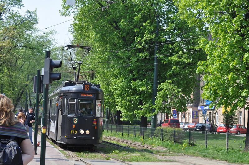 Trams galore