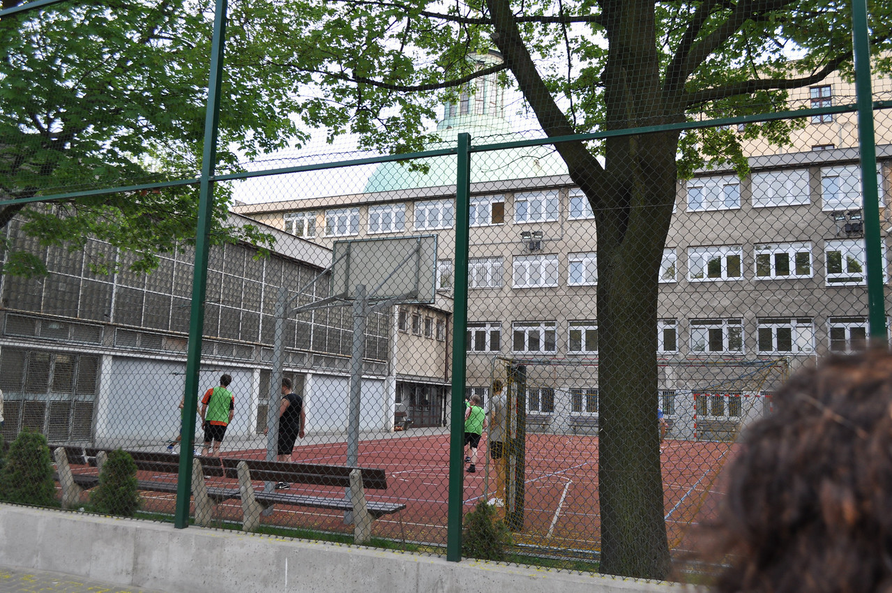 Mikołaja Reja - my father's elementary and middle school until the age of 13. In September 1939 they had to escape from Warsaw.