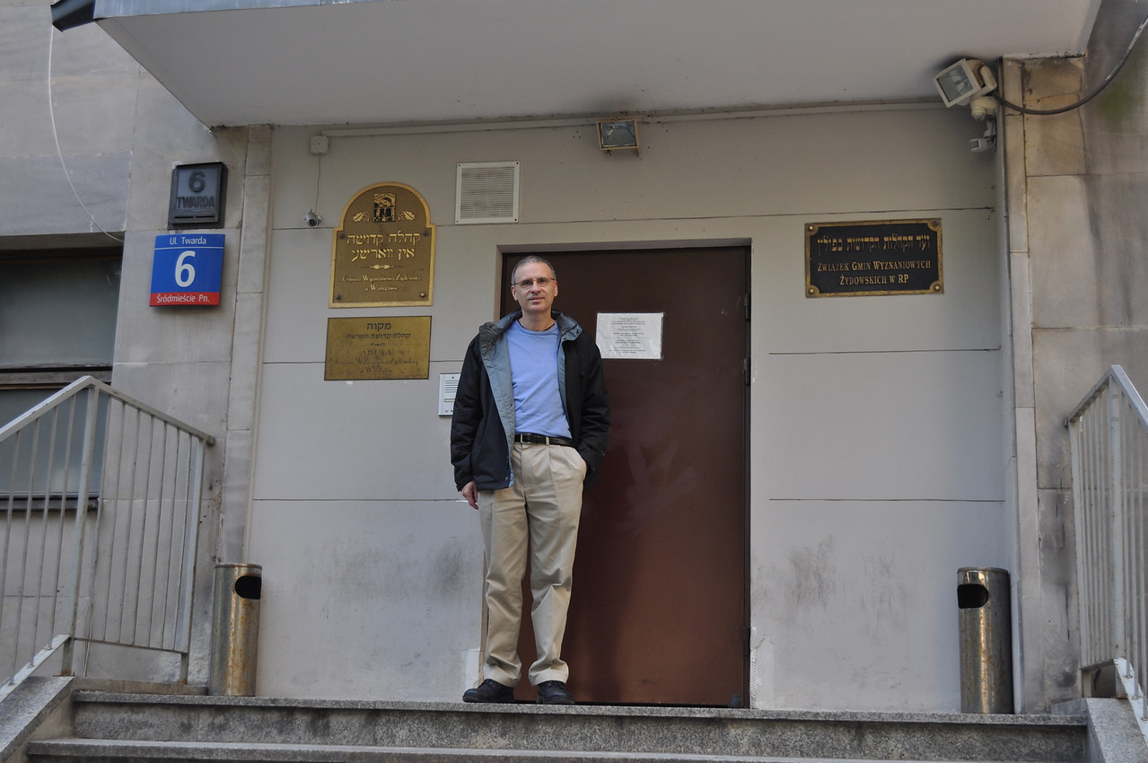 """6 Twarda street is the address of the """"Nozyk"""" synagogue. My father's grandfather used to pray here. After many years, the synagogue has been restored. The nazis used it as a horse stable, which is why it survived."""