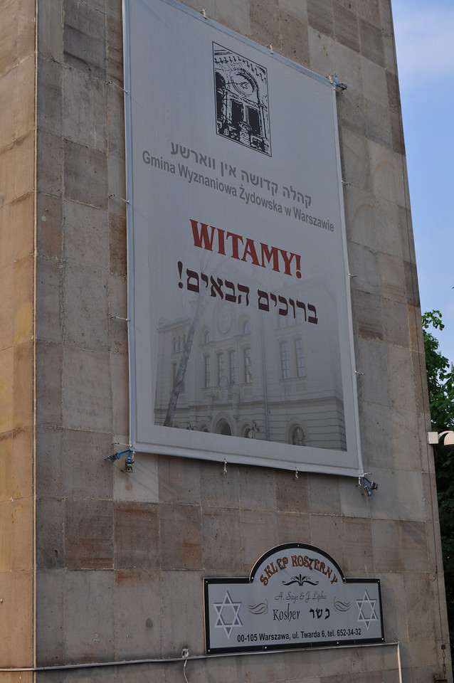 The Jewish Community in Warsaw welcomes you!