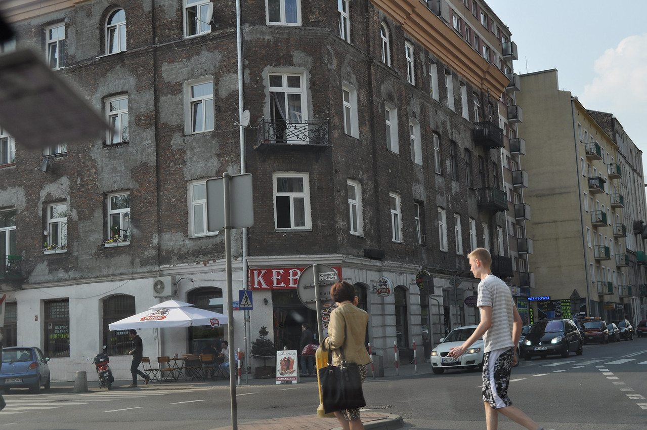 Most of Warsaw was rebuilt after WWII, but some old buildings remain here and there.<br /> <br /> Click on any picture to zoom in.<br /> <br /> There were over 350,000 Jews in Warsaw which made up over 30% of the city's population.