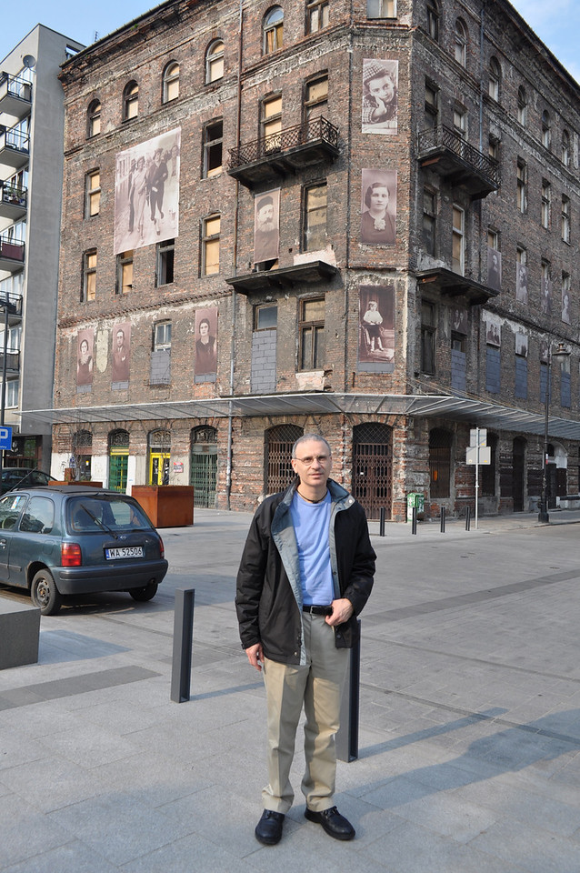 Old buildings in the Jewish Quarter are being restored