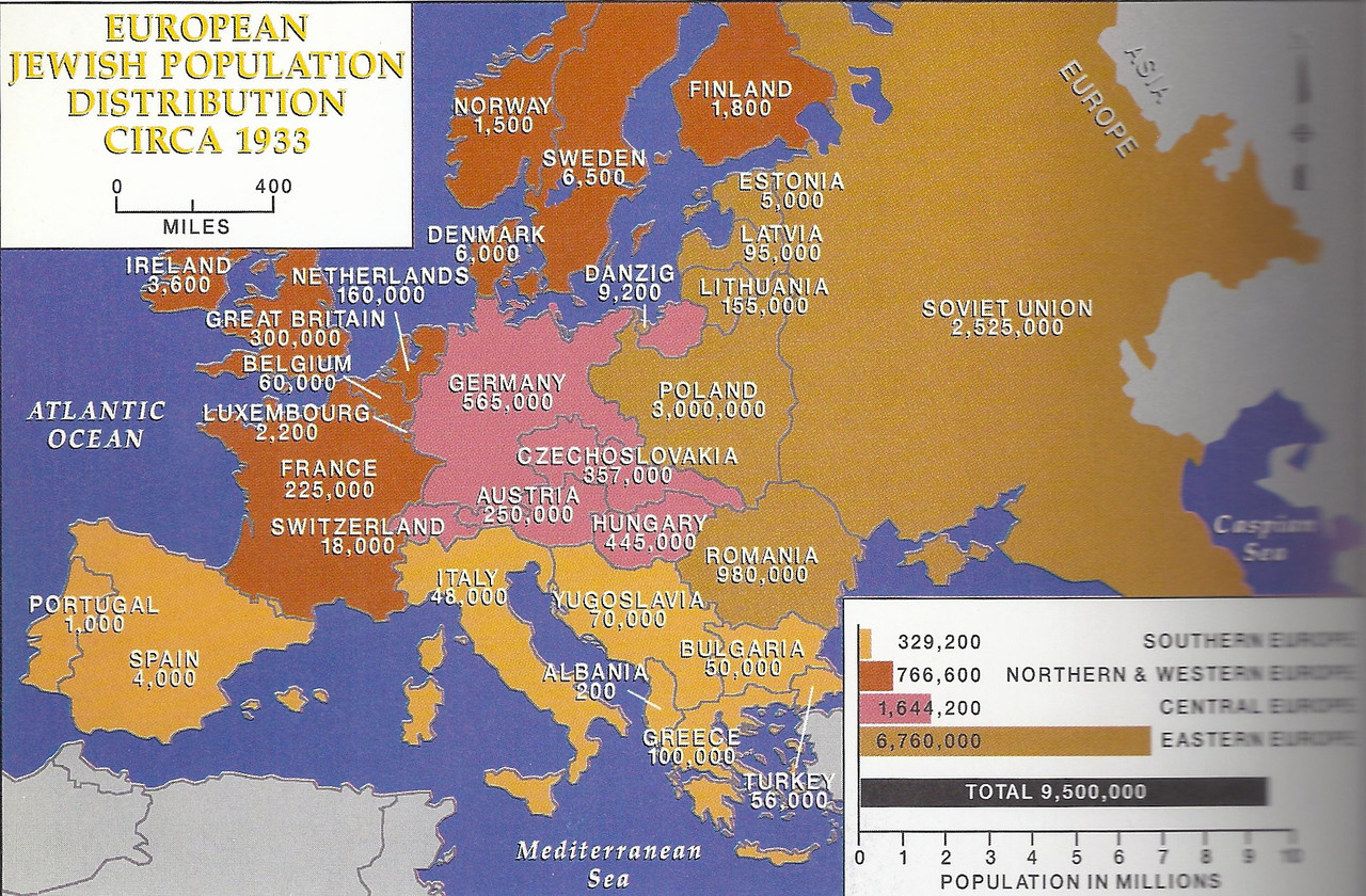 Poland had the largest Jewish population in Europe. Between 3-4 Million Jews lived in Poland when the war broke out. They comprised about 10% of the population and paid more than 35% of the taxes.<br /> <br /> About 8 million Jews today all over the world can trace their heritage to Poland, and yet there are less than 10,000 active Jews in Poland today (some estimates claim 50,000).<br /> <br /> About 15-20 million tourists visit Poland since it joined the EU, and a large percentage of them are Jewish.