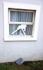 Princess Towers and damaged window 20140219