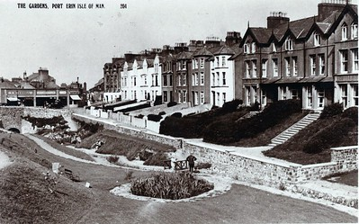 Port Erin The Gardens 19480904