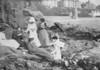 Port Erin rocks picnic