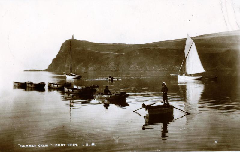 Port Erin Summer Calm 19530323
