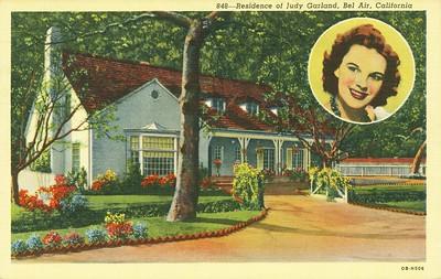 Residence of Judy Garland