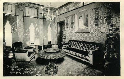 Interior of Bernheimer Home