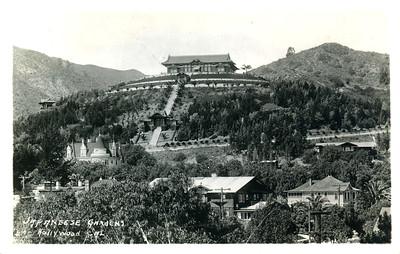 Japanese Gardens on Hill