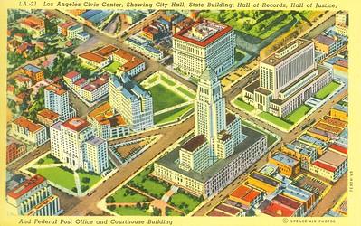 Civic Center Aerial