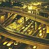 Harbor Freeway at Night