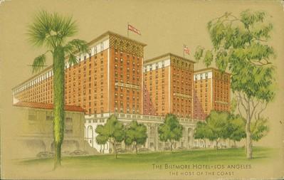 Biltmore Hotel Drawing