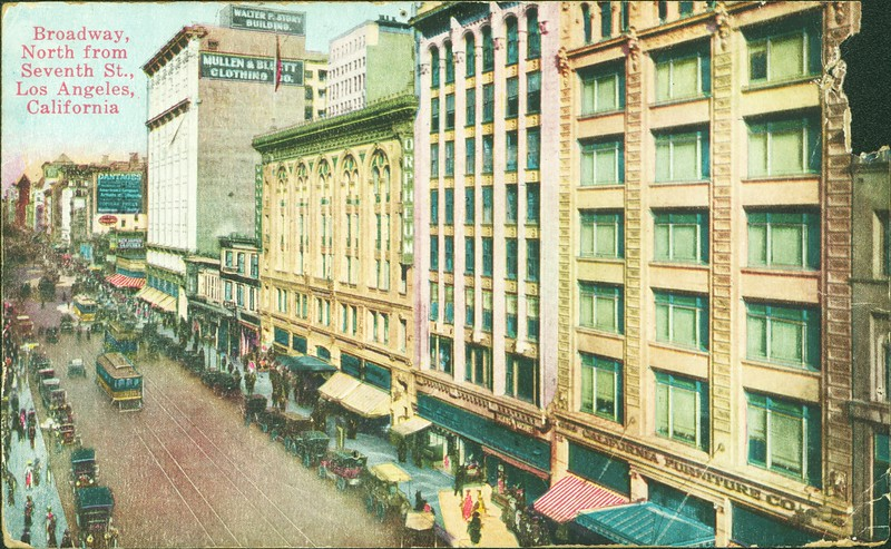 Broadway Near Seventh Street