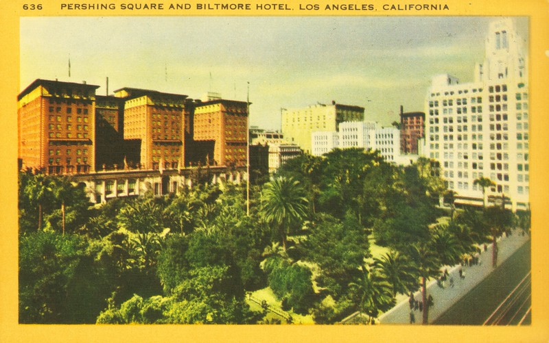 Pershing Square and Biltmore Hotel