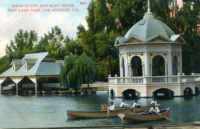 Band Stand and Boat House