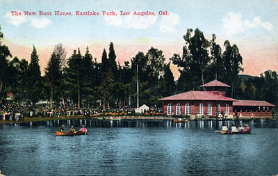 The New Boat House in Eastlake Park