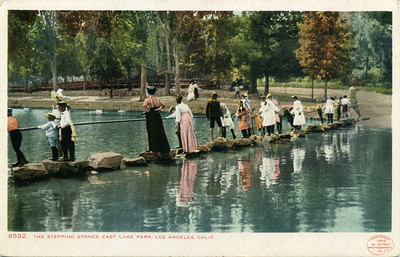 The Stepping Stones in East Lake Park