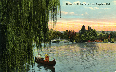 Echo Park Boat Couple