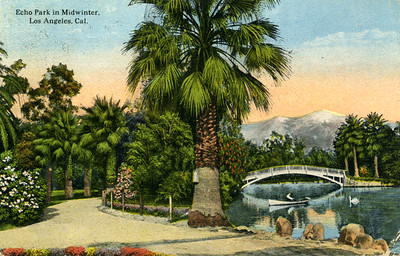 Echo Park in Midwinter