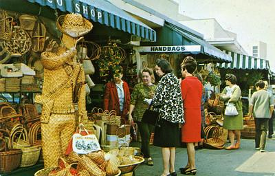 Farmers' Market Basket Man