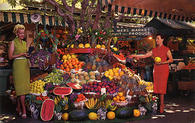 Farmers' Market Exotic Displays