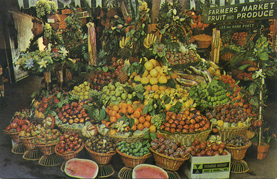 Farmers' Market Fruit Display