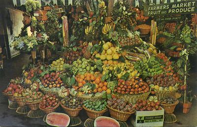 Farmers' Market Fruit Display